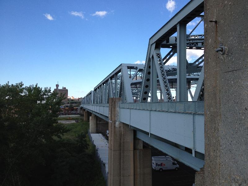 Triboro Bridge extension to The Bronx