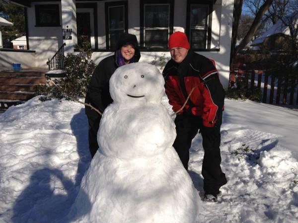 Handy the snowman!